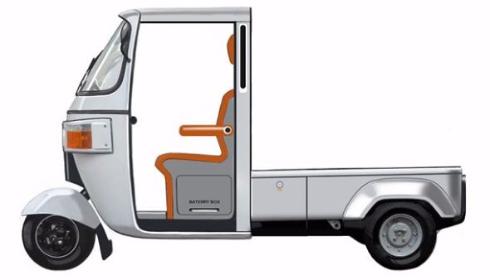 オート三輪電気自動車