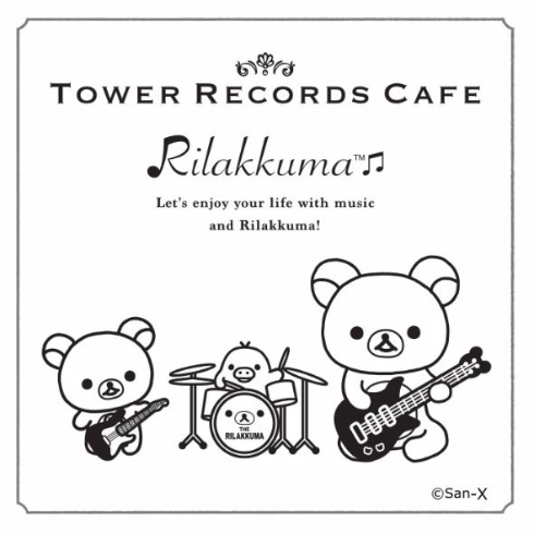 ロックバンドなリラックマたちがかわいい タワーレコードとリラックマのコラボカフェが期間限定オープン ねとらぼ