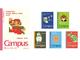 「スーパーマリオ」とコクヨがコラボ! ドット絵のマリオたちがかわいい全6種類のキャンパスノートが誕生