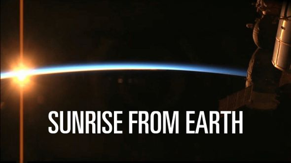 SUNRISE FROM EARTH