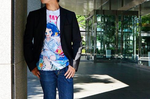 「ニパ子」フルグラフィックTシャツ