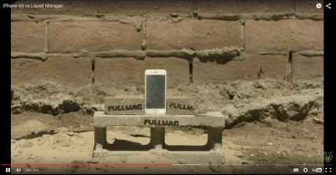 iPhone6sの脆弱性