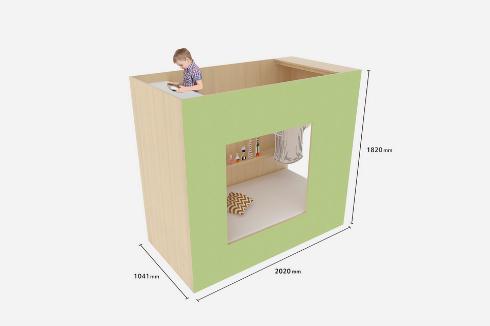 1.5畳のこども小屋