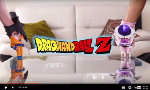 DragHAND Ball Z