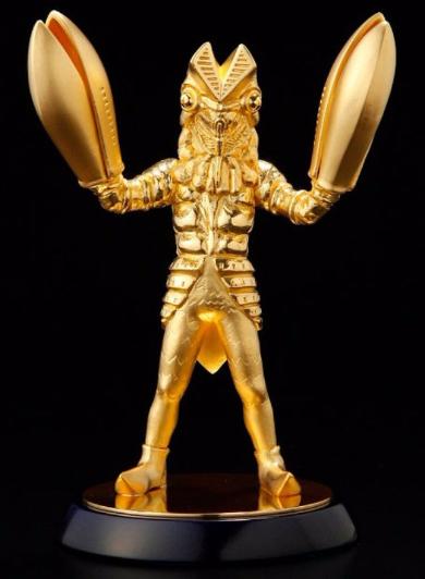 純金製バルタン星人
