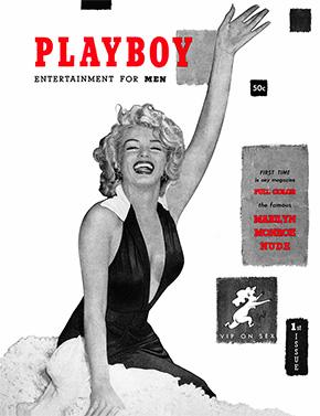 PLAYBOY創刊号の表紙を飾ったのはマリリン・モンローでした