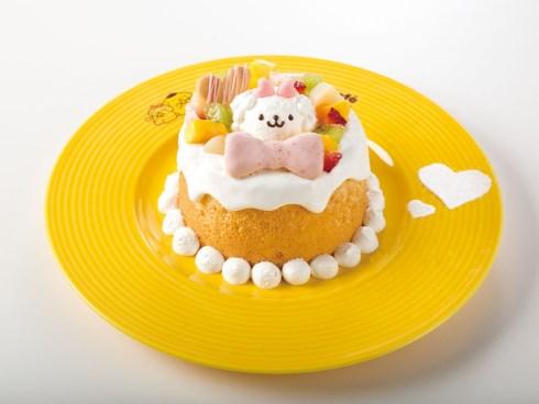 ふわふわシフォンケーキ