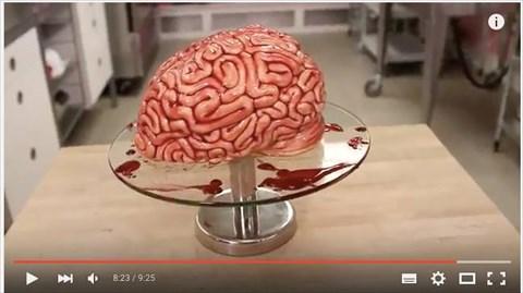 脳みそケーキ
