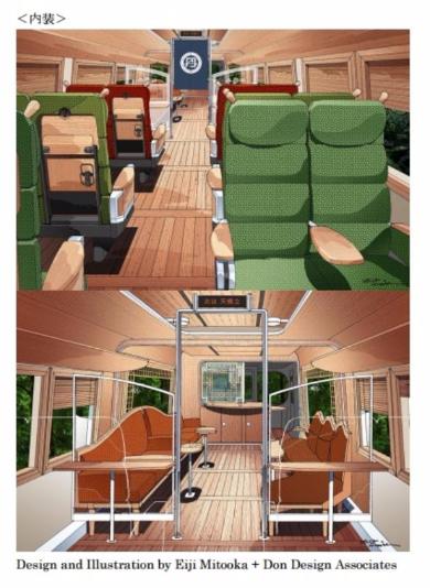 特急列車「丹後の海」