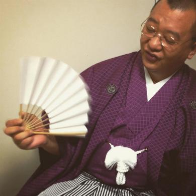 笑福亭鶴瓶さんになりきるTKO・木下隆行さん