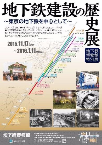 地下鉄建設の歴史展