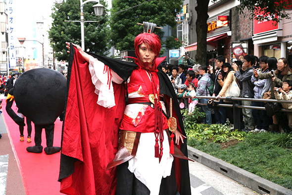 世界コスプレサミット2015の日本代表でもある万鯉子さん