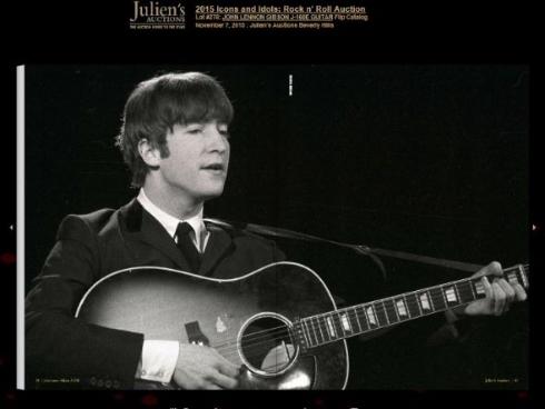 ジョン・レノンのギター