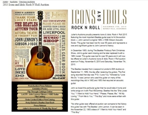 Icons & Idols: Rock n' Roll 2015