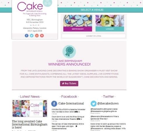 Cake International competition