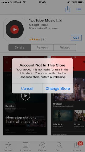 App Store英語