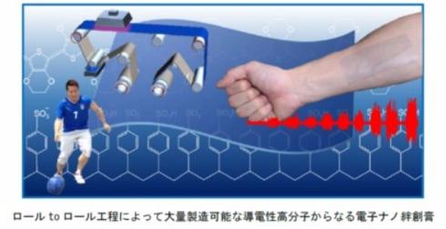 電子ナノ絆創膏