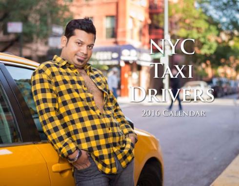 タクシー運転手カレンダー