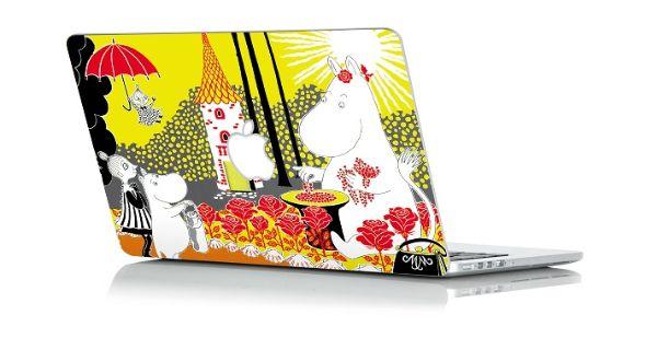 ムーミン MacBook Air用3Dスキンシール