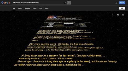 スター・ウォーズGoogle検索