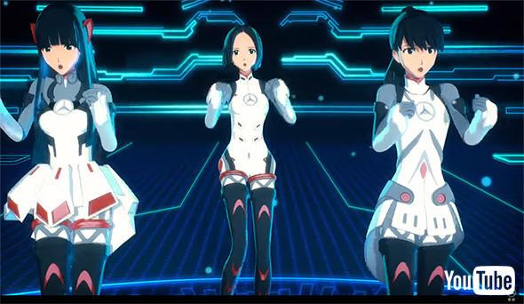 Perfumeの3人が動く! 踊る!