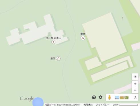 Googleマップへのいたずら
