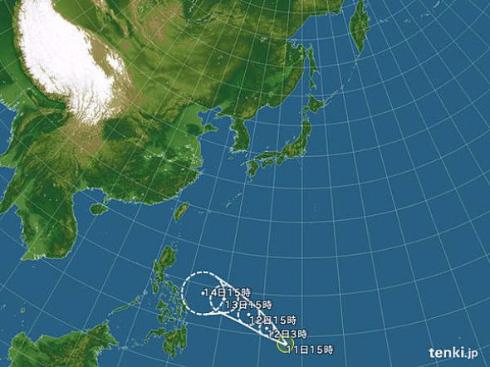 台風27号