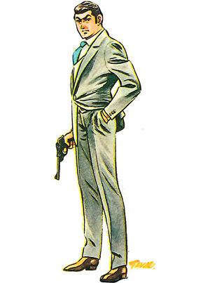 さいとう・たかをさん描き下ろしのジェームズ・ボンド