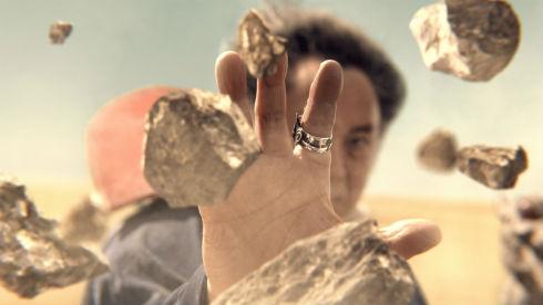 りゅうおうが石を止める