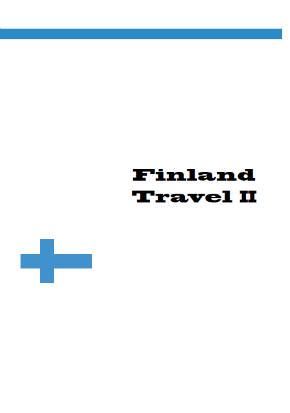 Finland TravelII フィンランドで快適モバイル通信 2013年フィンランドスイッチの旅