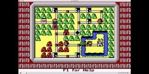 マリオブラザーズ3PC版デモプレイ画面1