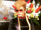 """「氣志團」綾小路翔さんが女装姿を公開 リーゼント×黒ドレスが謎の魅力を放つ""""綾子ママ"""""""