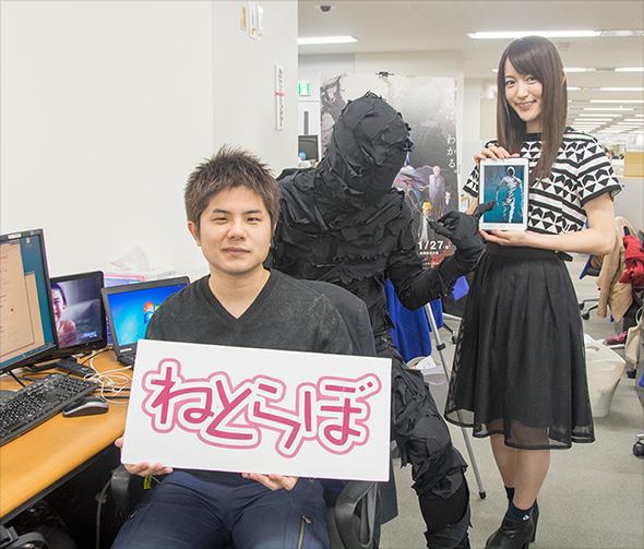 亜人・佐藤を想起させるねとらぼ編集部のポーカーフェイスと小松さん