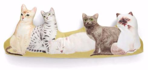 猫まみれハーレムクッション