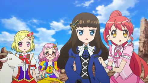 映画「プリパラ み〜んなのあこがれ♪レッツゴー☆プリパリ」場面カット