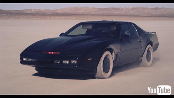 車は旧作から変わらず82年型ポンティアック・ファイヤーバード・トランザムの様子。