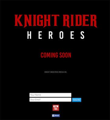 KIGHT RIDER HEROES