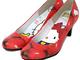 りんご柄がかわいい! IROnnaとサンリオがコラボしたキティちゃんの靴、受注生産へ