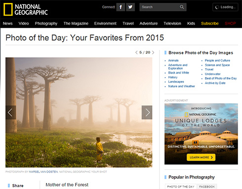Photo and caption by Marsel van Oosten / National Geographic Your Shot