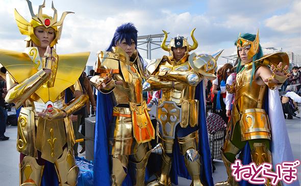 黄金聖闘士(ゴールドセイント)たち
