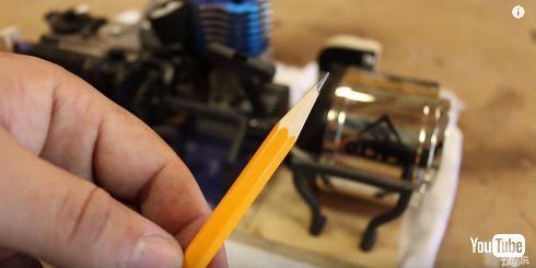 エンジン鉛筆削り
