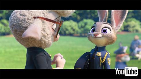 ズートピア初のうさぎの警察官となったジュディですが……