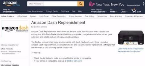 Amazon Dash Replenishment