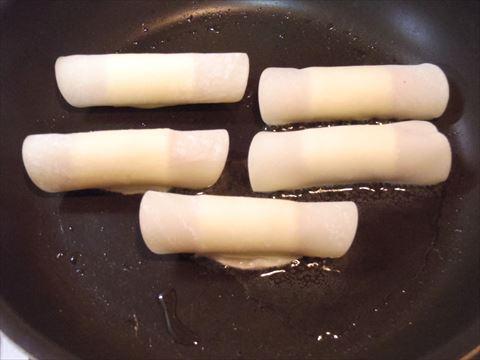 ポークウィンナーのチーズ巻き