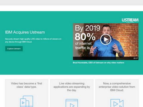 IBMがUstreamを買収