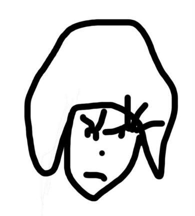 Fukaseさんによるきゃりーぱみゅぱみゅさんの似顔絵