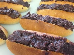 翠玉堂のおはぎパン