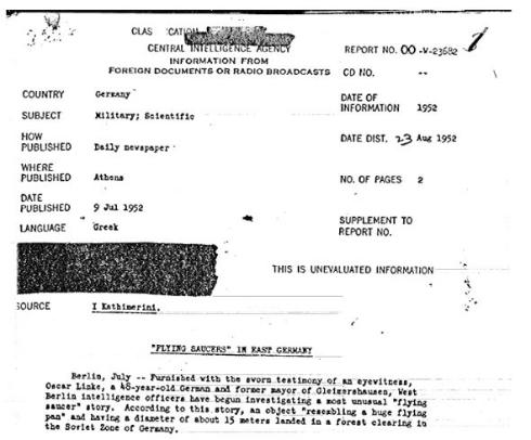 CIA機密解除