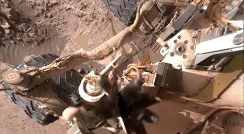 360度グリグリ火星を見回せる