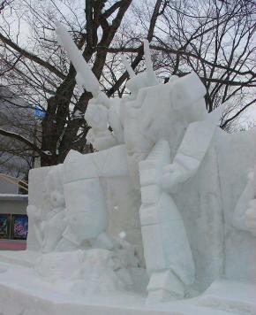 雪まつり像